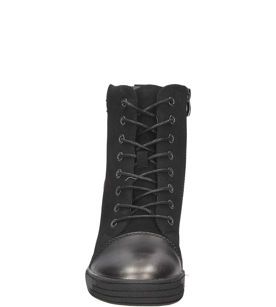SNEAKERSY SERGIO LEONE 28332 kolor czarny
