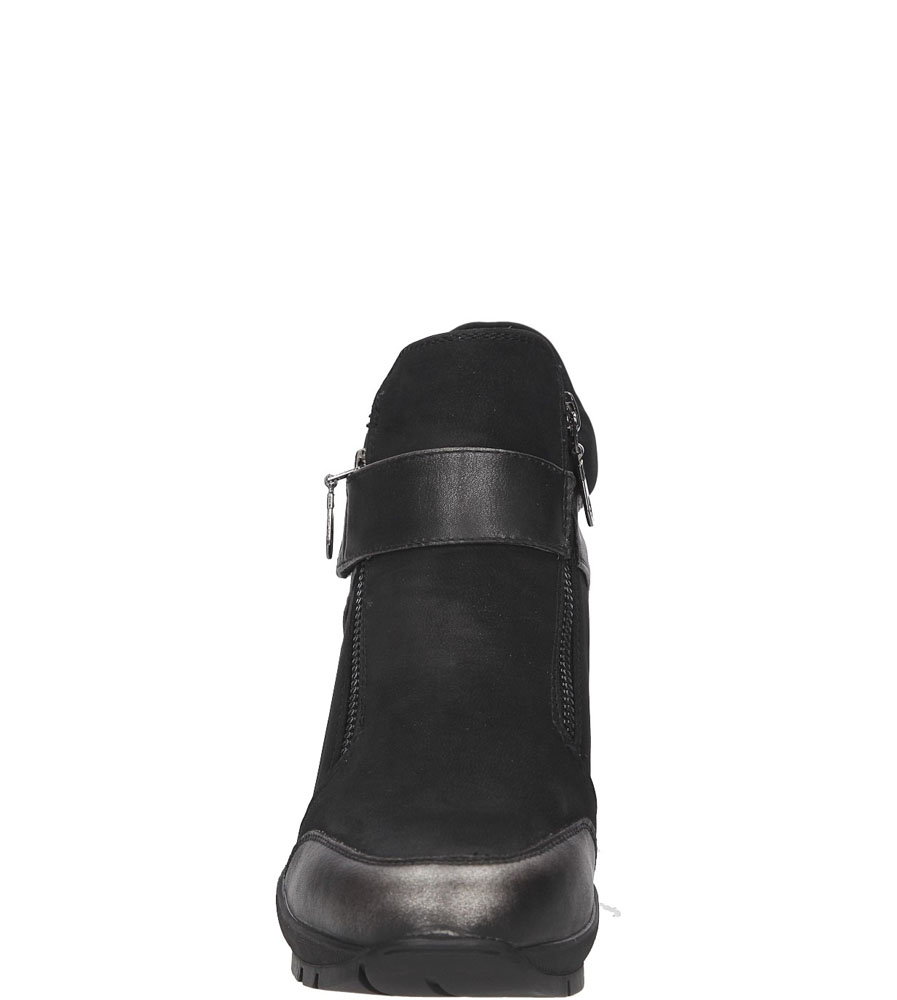 SNEAKERSY SERGIO LEONE 22661 kolor czarny, srebrny
