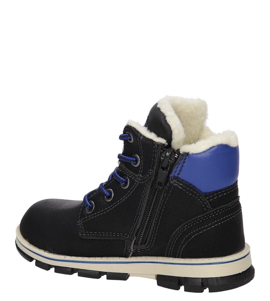 Dziecięce TRZEWIKI 3XC7041-W czarny;niebieski;