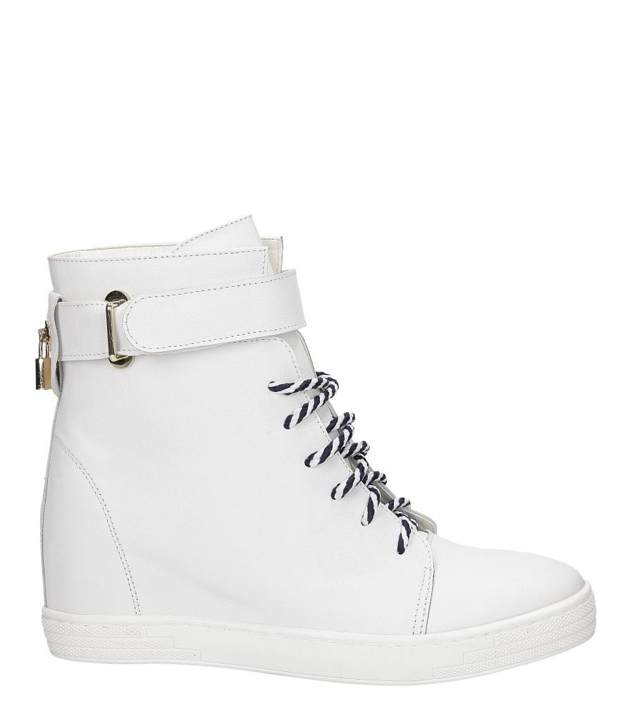 Damskie SNEAKERSY CASU 2383 biały;;