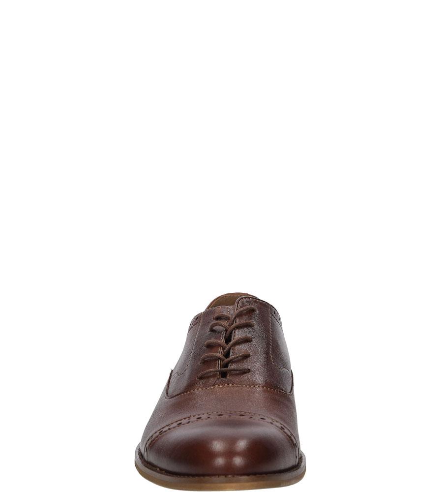 WIZYTOWE WINDSSOR 603 kolor brązowy