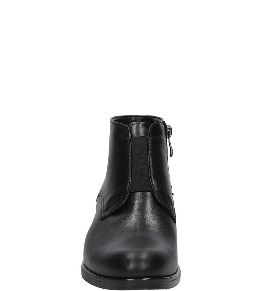 BOTKI CASU 1826 kolor czarny
