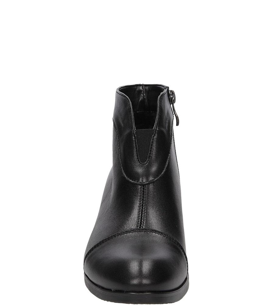 BOTKI CASU 1850 kolor czarny