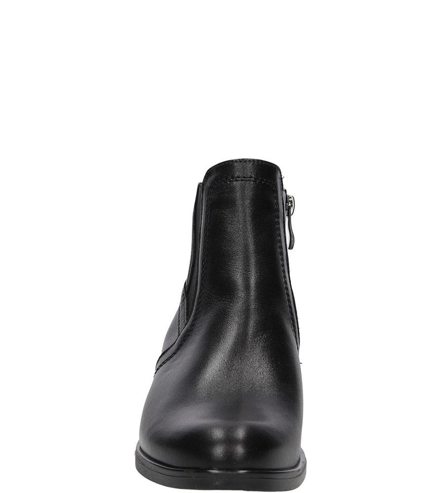 BOTKI CASU 1832 kolor czarny
