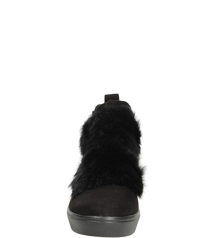 BOTKI CASU R101 kolor czarny