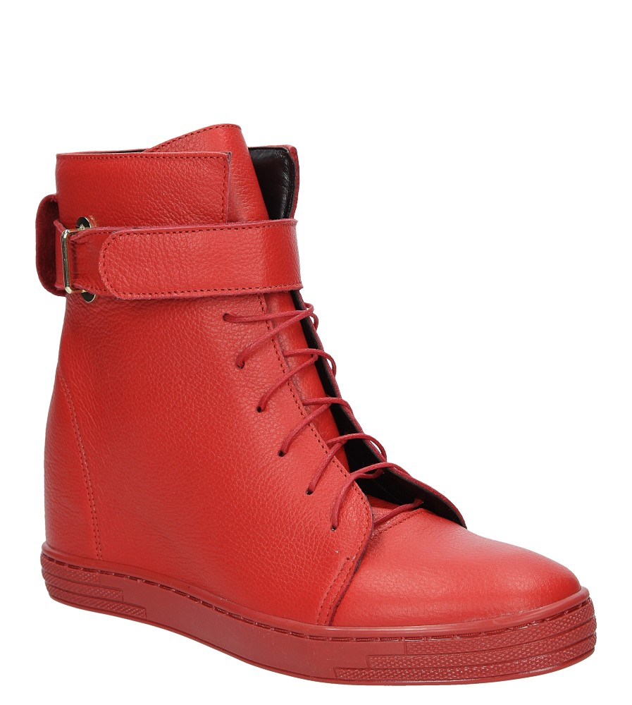 Damskie SNEAKERSY CASU 2383 czerwony;;