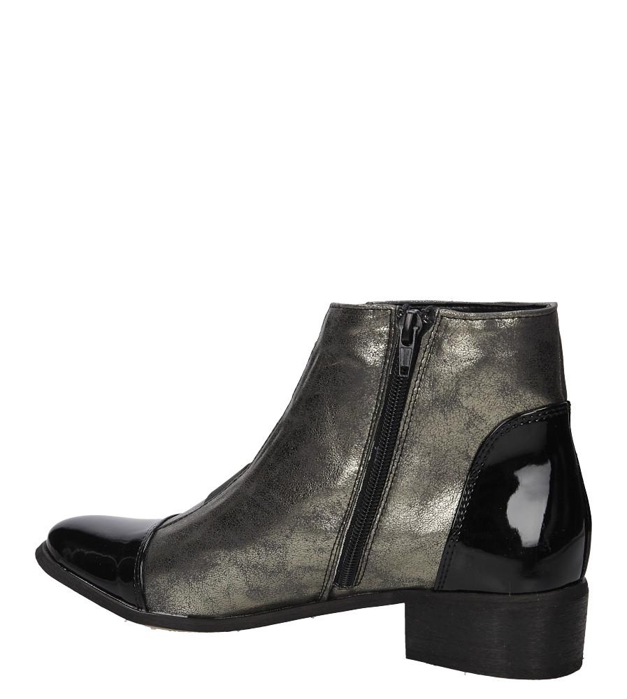 damen schuhe casu 020 stiefeletten ankle boots winter gold. Black Bedroom Furniture Sets. Home Design Ideas