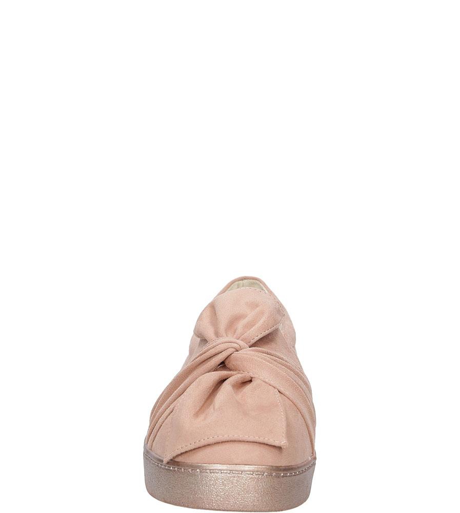 SLIP ON CASU T260 kolor jasny różowy