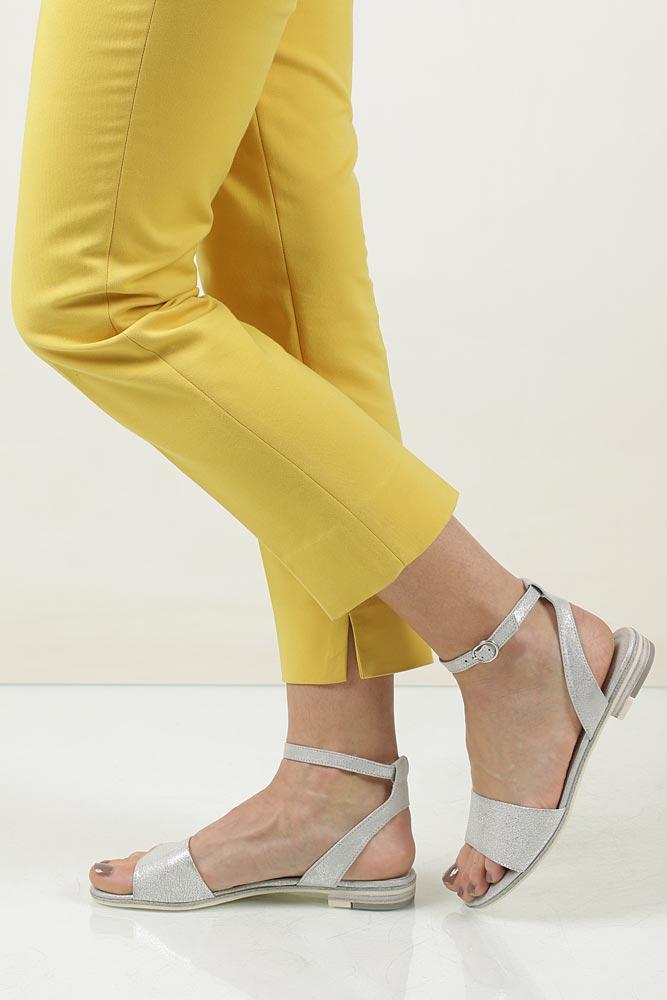 Sandały skórzane Marco Tozzi 2-28109-28