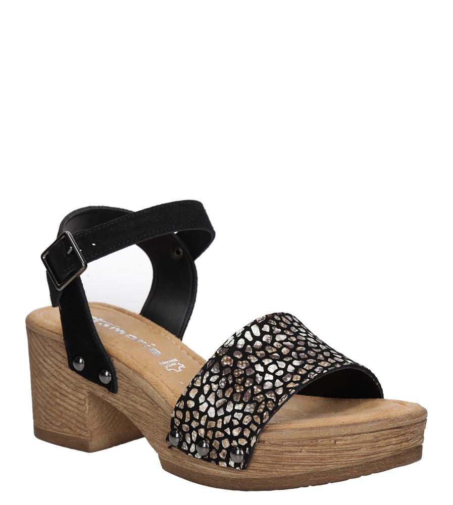 Sandały skórzane na platformie Tamaris 1-28036-28