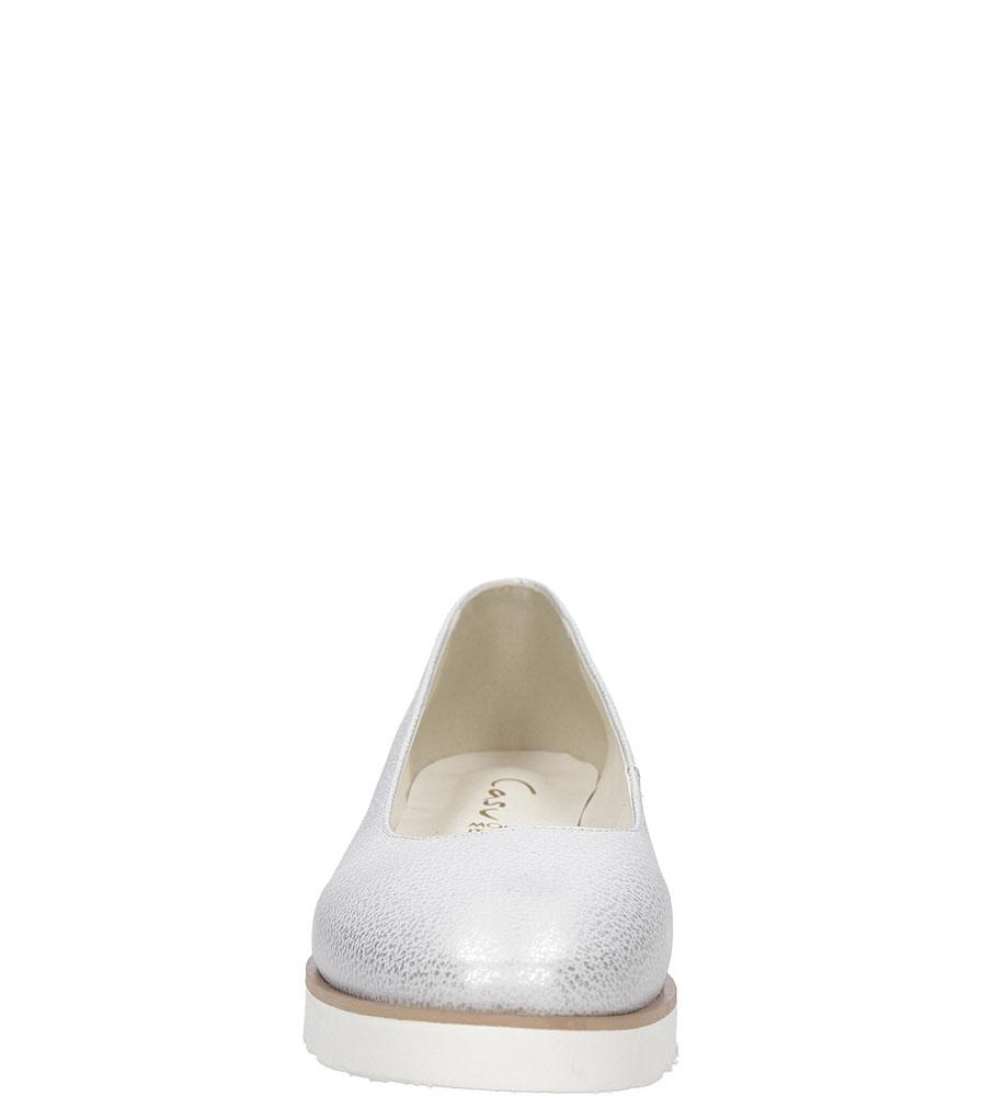 Baleriny błyszczące Casu 1970 wys_calkowita_buta 9 cm