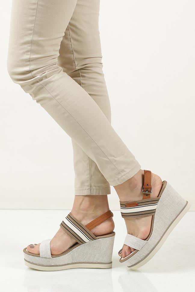 Sandały Wrangler Jeena Sunshine WL171660 beżowy