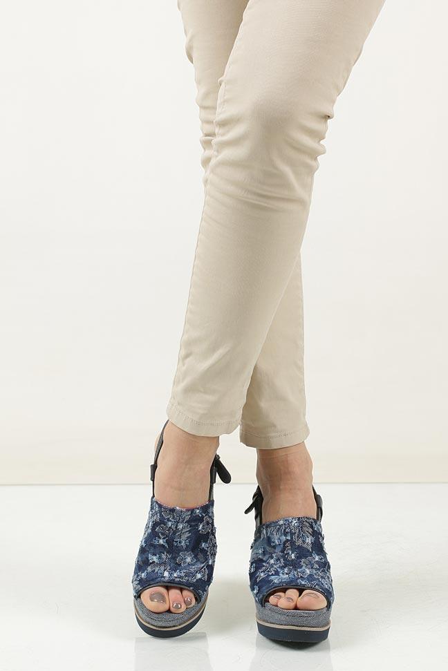 Sandały Wrangler Kelly Indigo WL171683 wierzch materiał