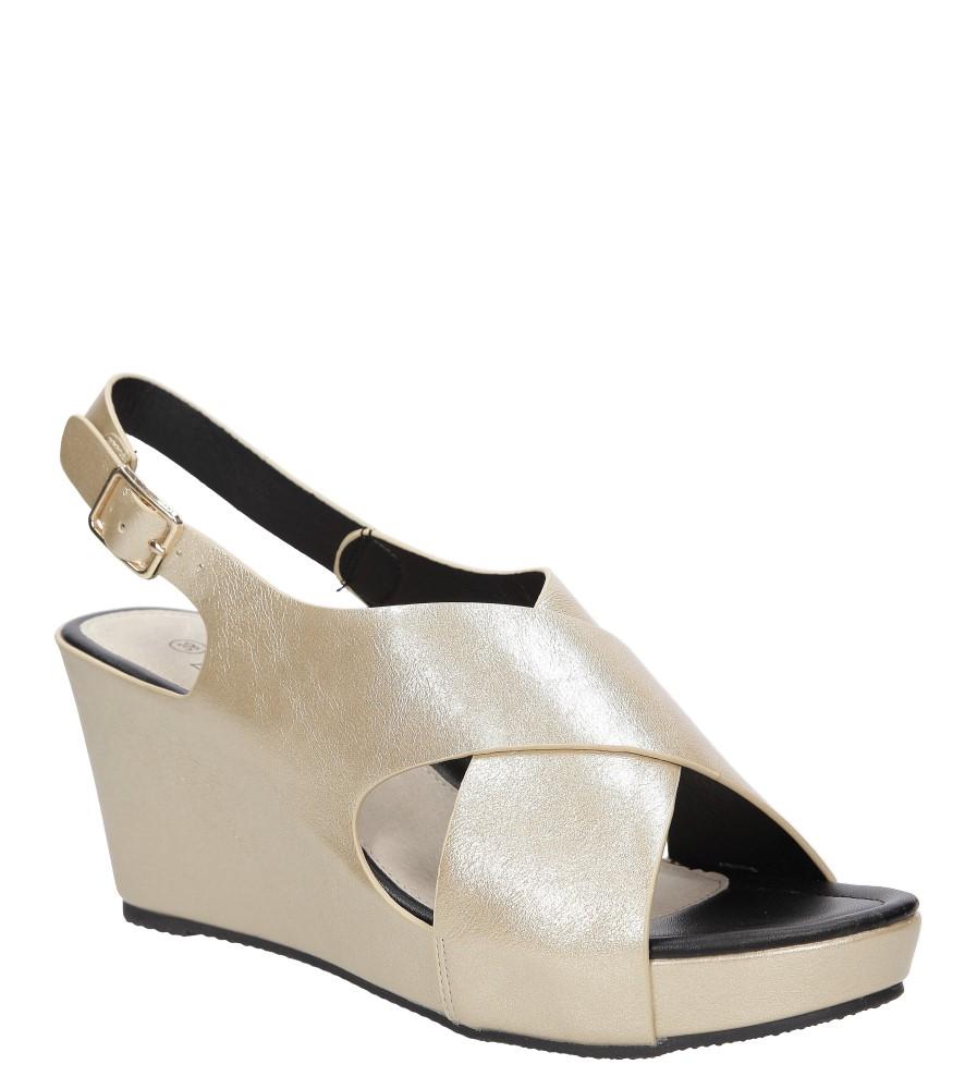 Sandały na koturnie Casu LS06709P producent Casu