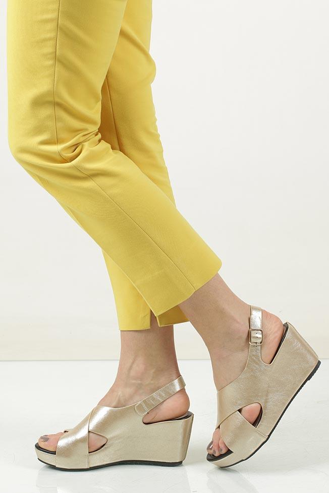 Sandały na koturnie Casu LS06709P model LS06709P