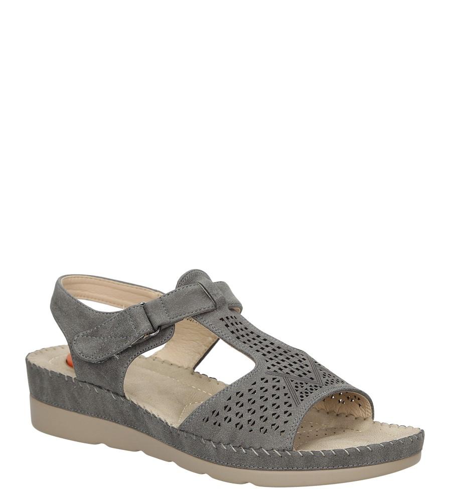 Sandały na koturnie Casu LS06711P producent Casu
