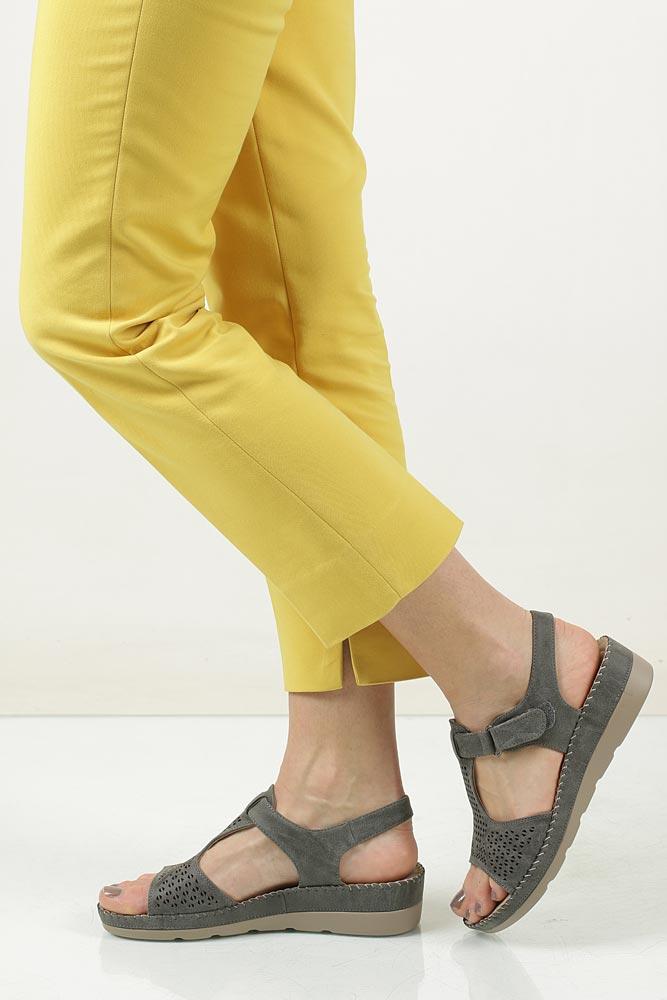 Sandały na koturnie Casu LS06711P model LS06711P