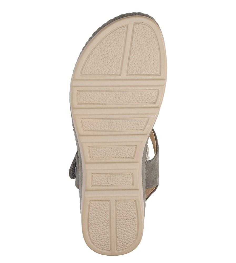 Sandały na koturnie Casu LS06711P wys_calkowita_buta 13 cm