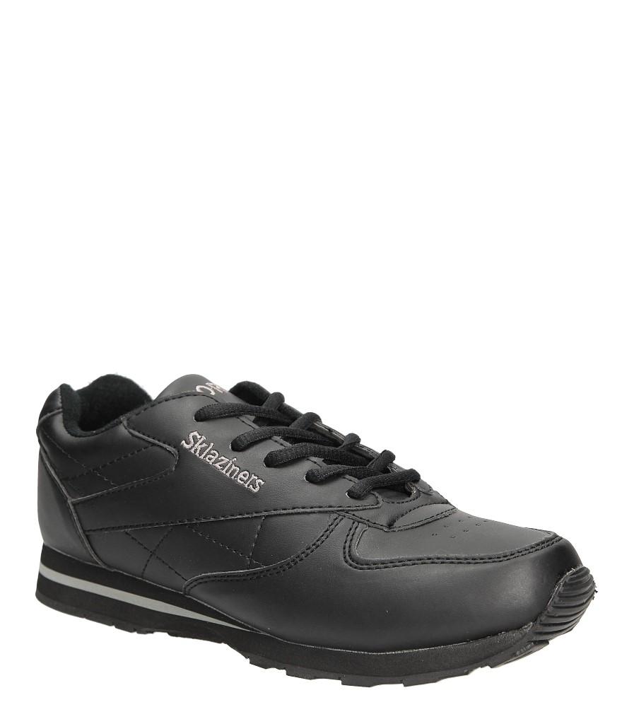 Czarne buty sportowe Casu B014