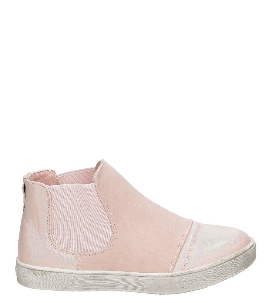 Dziecięce Botki Casu 5F-DY17040 różowy;;