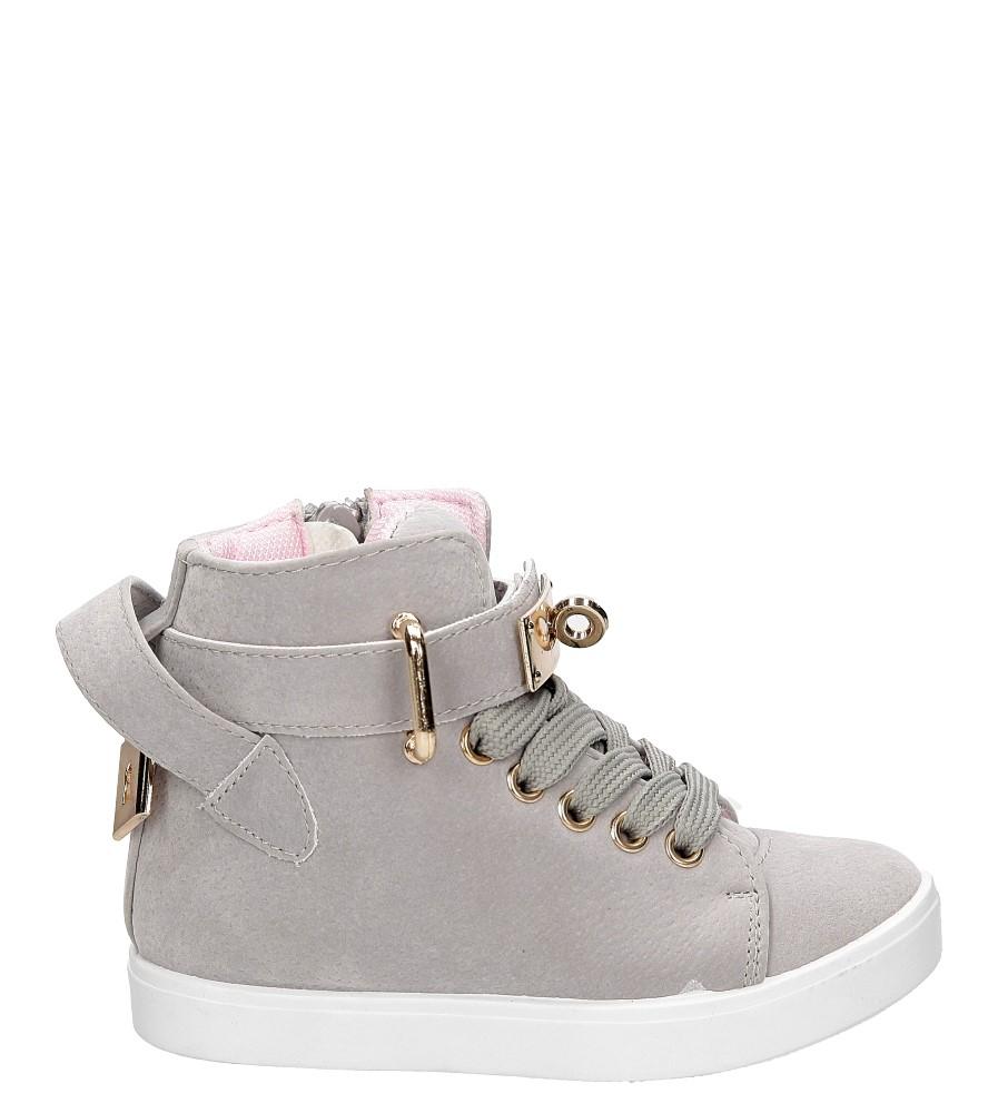Dziecięce Sneakersy z kłódką Casu R73D szary;;