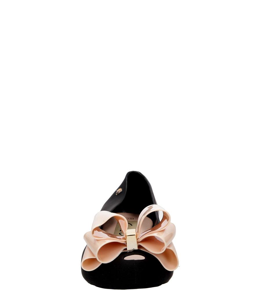 Meliski z kokardą Casu KM94 kolor czarny