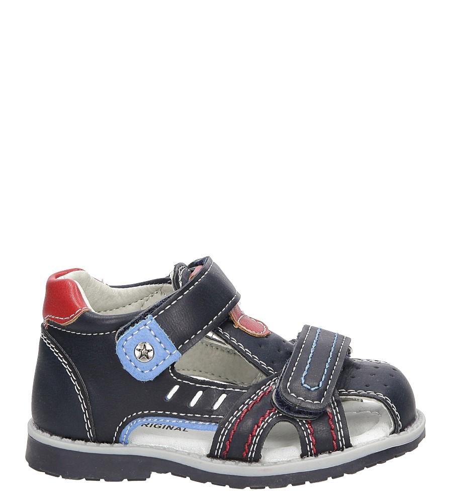 Sandały na rzep Casu 1S-DY86042D