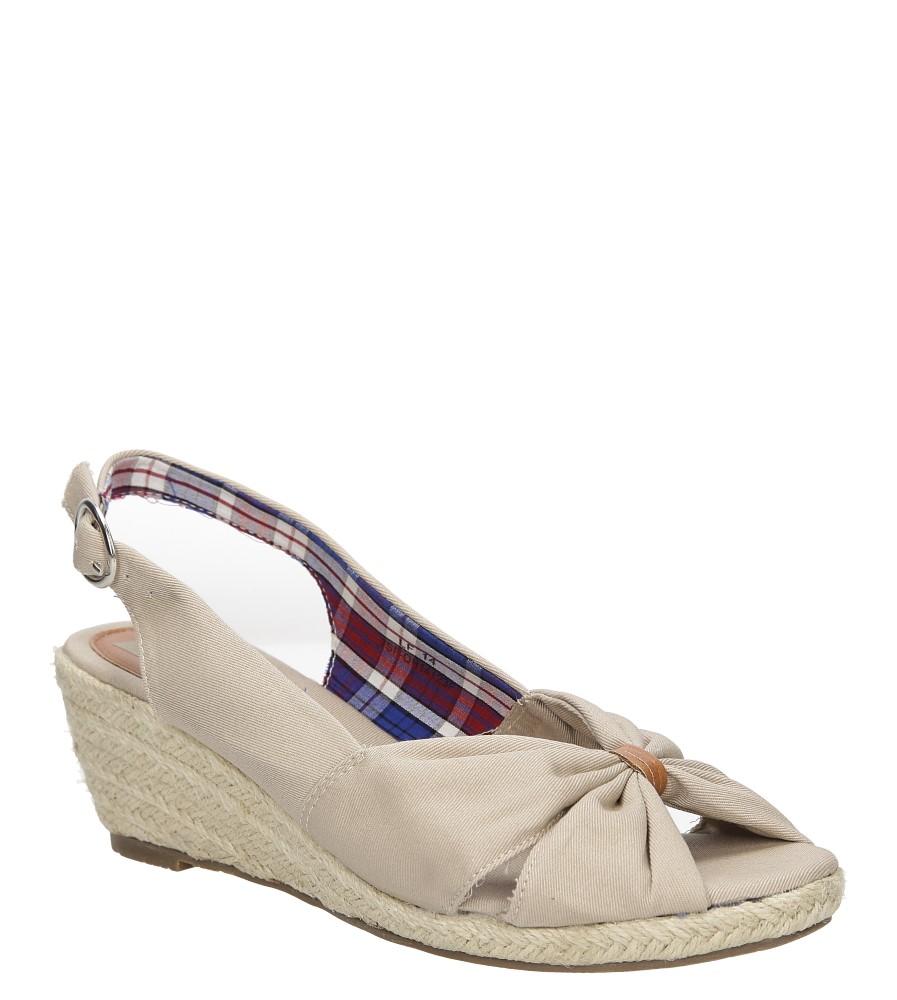 Sandały na koturnie Casu 7SF-QH14123F