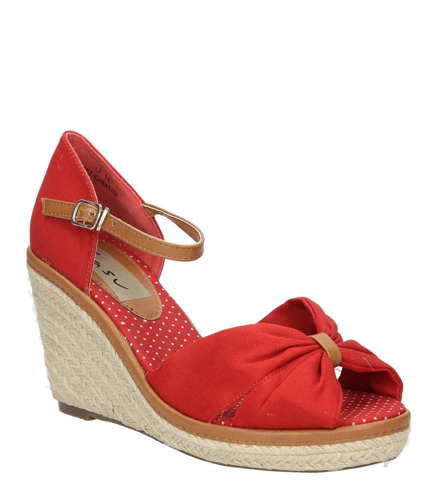Sandały na koturnie Casu 7SF-QH84516F