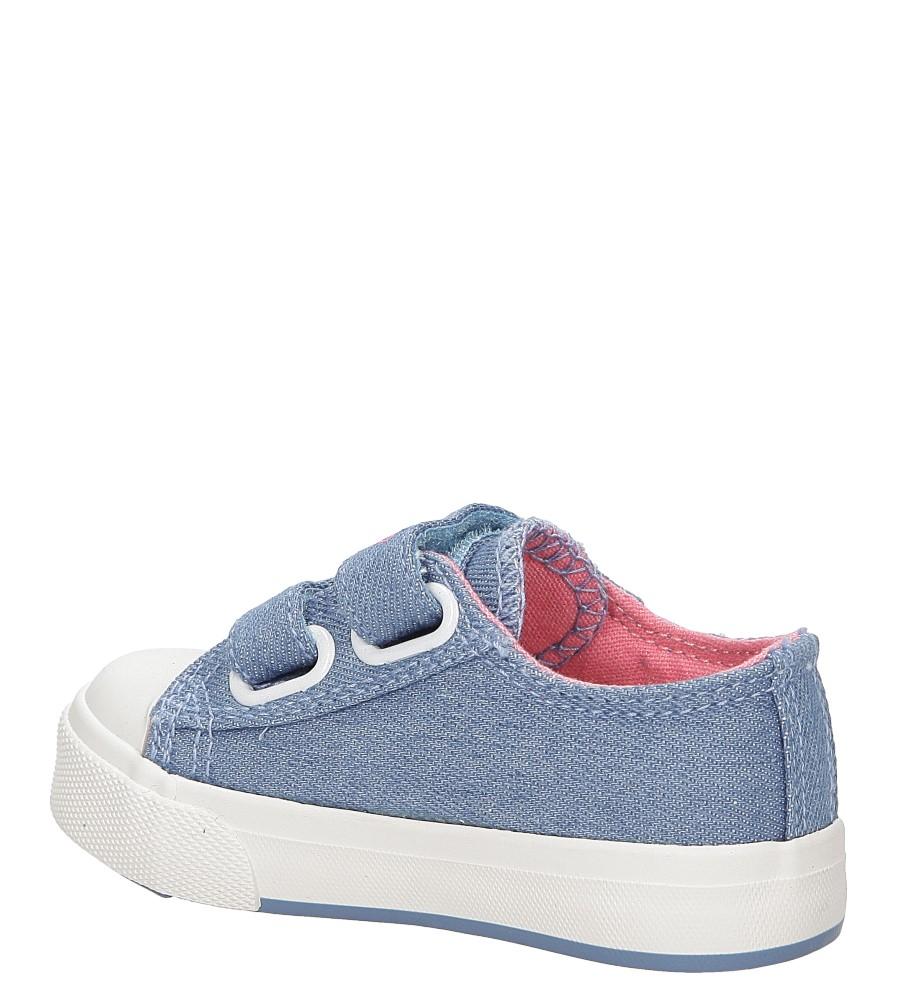 Dziecięce Trampki Casu SJ6359 niebieski;;