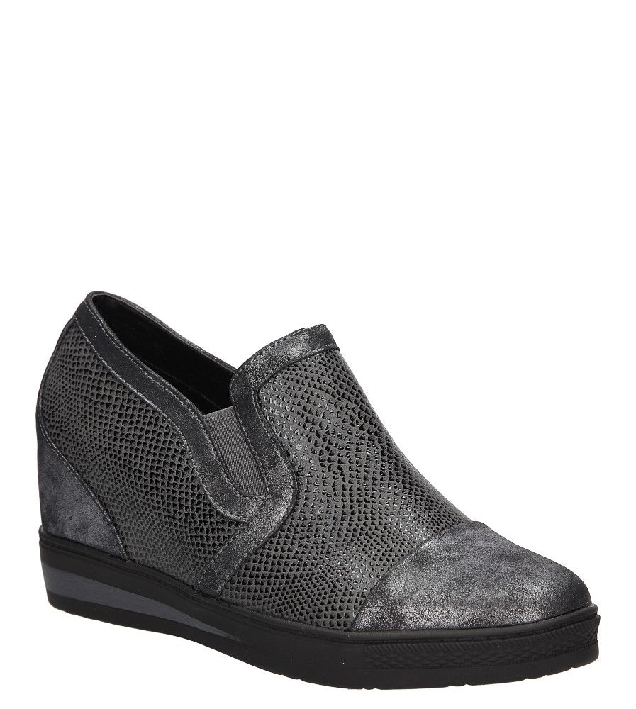 Sneakersy na koturnie S.Barski L05717P