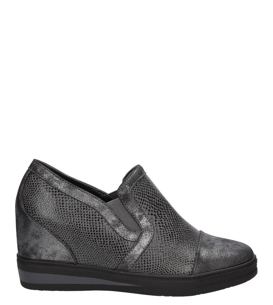 Sneakersy na koturnie S.Barski L05717P wysokosc_obcasa 7 cm