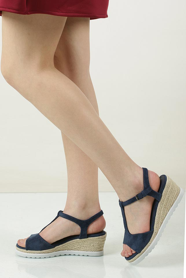 damen sandalen casu ls55710p keilabsatz schwarz rot blau modisch gr 36 40 sale ebay. Black Bedroom Furniture Sets. Home Design Ideas