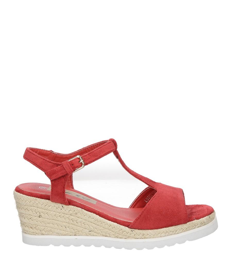 Sandały na koturnie Casu LS55710P wysokosc_obcasa 6.5 cm