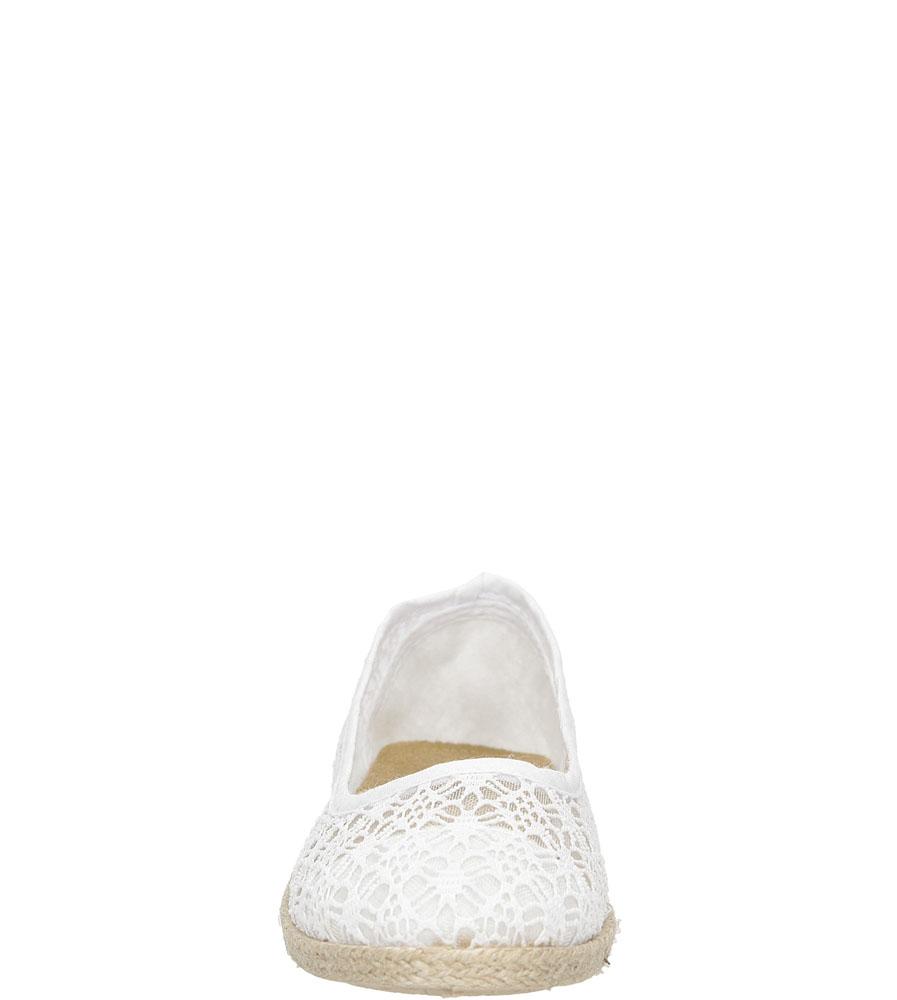 Baleriny koronkowe Jezzi 02TX76720 wierzch materiał