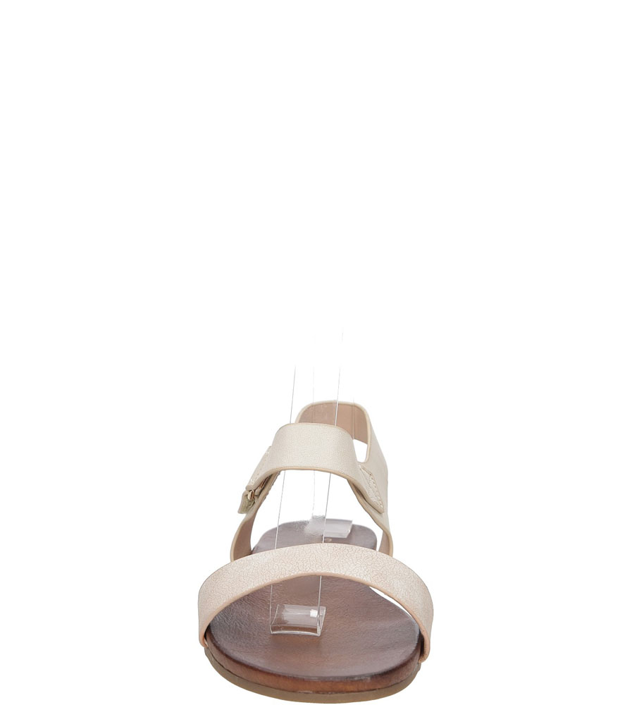 Sandały S.Barski 541-8 kolor beżowy
