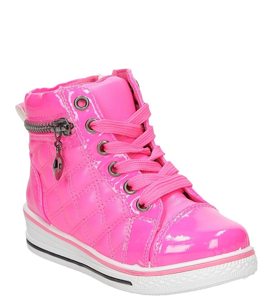 Dziecięce Sneakersy z ozdobnym zamkiem Casu R12D-4 różowy;;