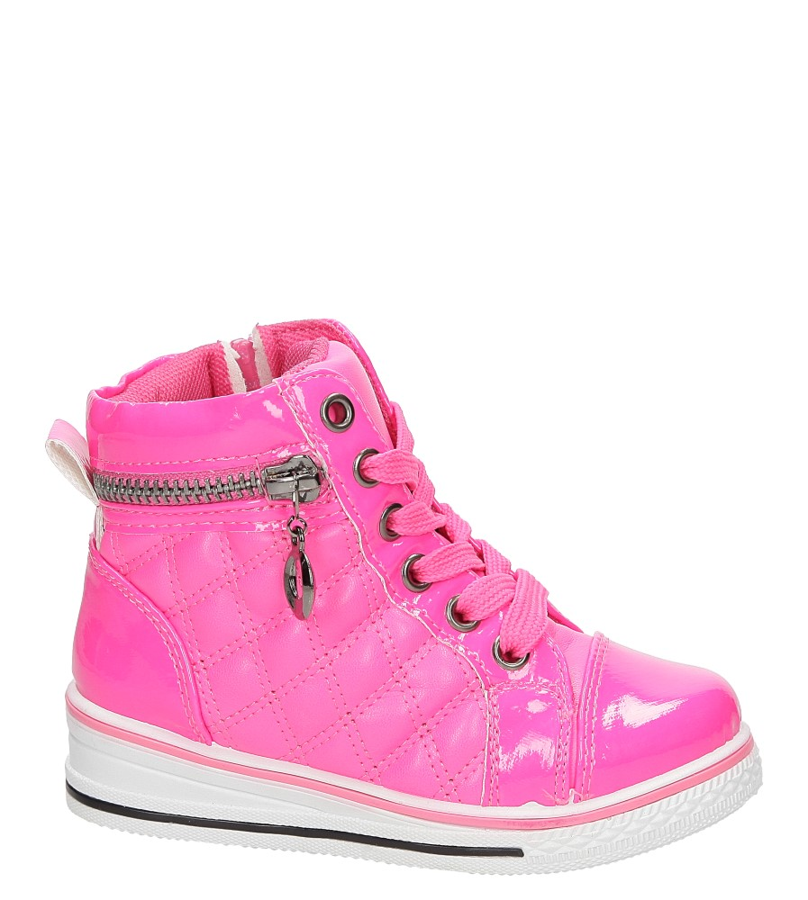 Sneakersy z ozdobnym zamkiem Casu R12D-4