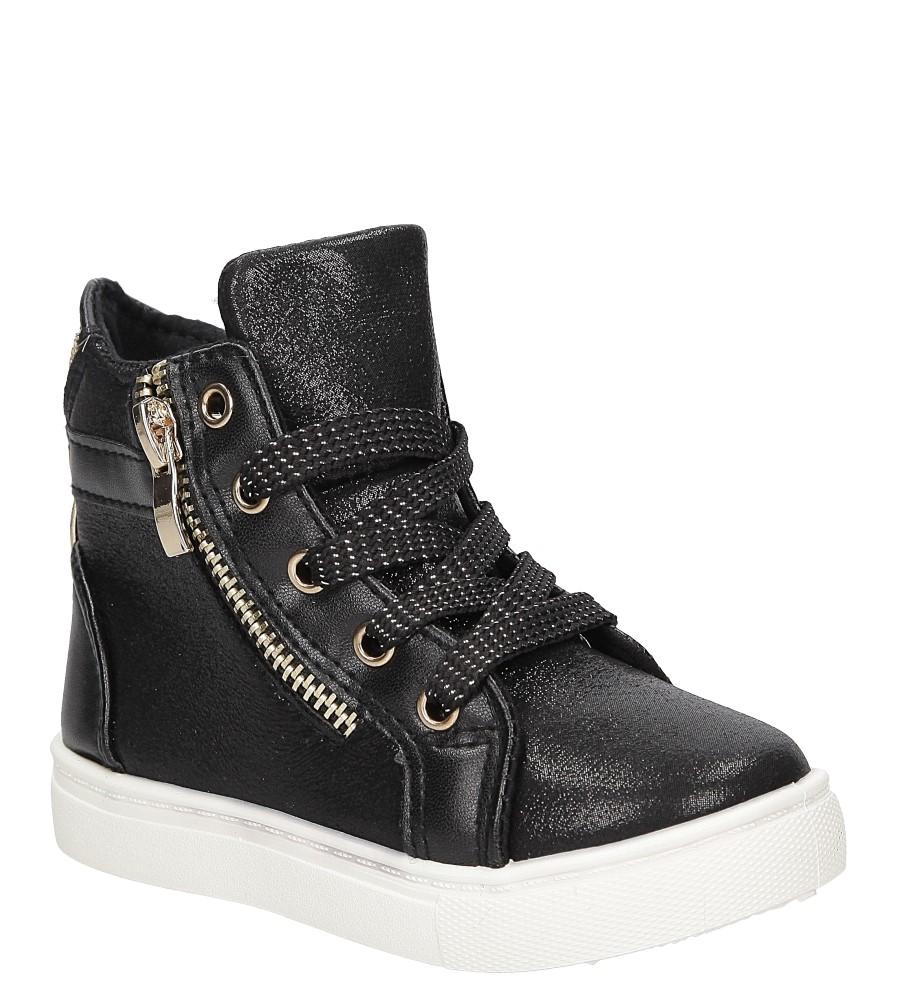 Sneakersy z ozdobnym zamkiem Casu DD403 producent Casu