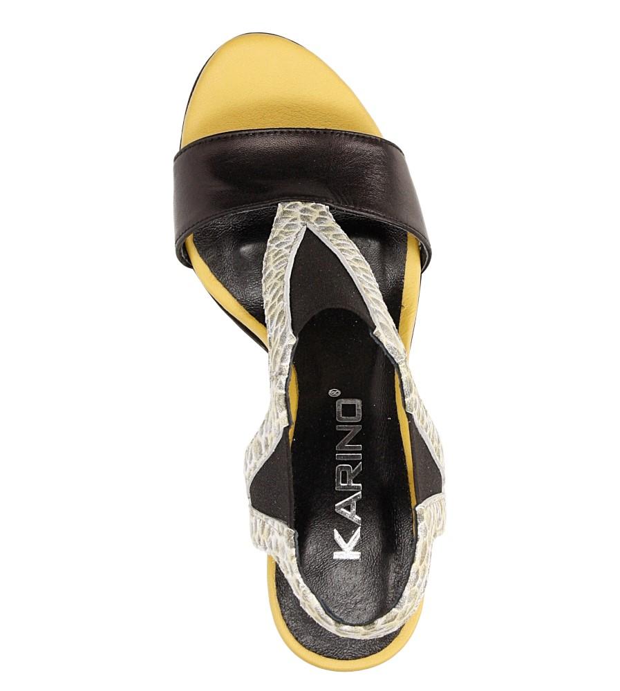 Sandały skórzane Karino 1978 wysokosc_platformy 1 cm