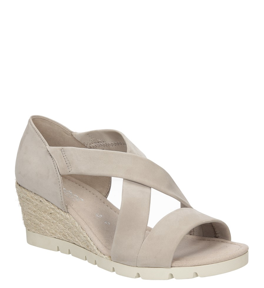 Sandały z nubuku Gabor 62.853 producent Gabor
