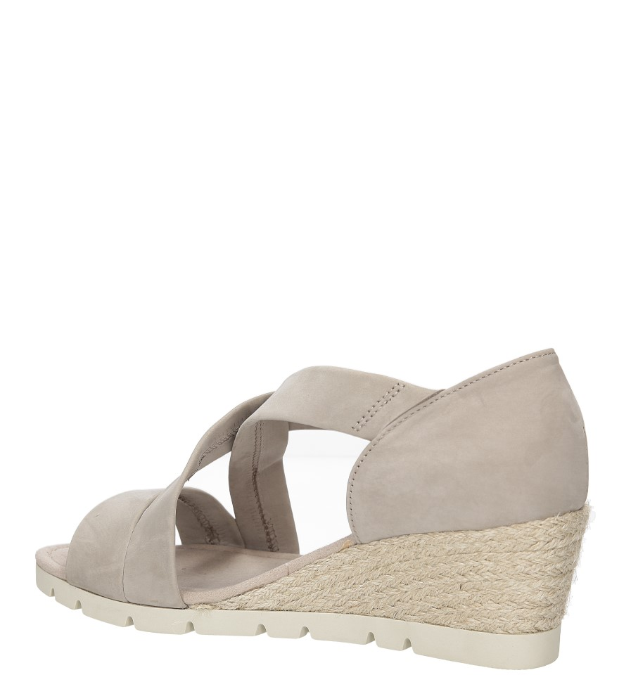 Sandały z nubuku Gabor 62.853 wysokosc_obcasa 6.5 cm