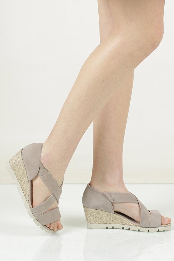 Sandały z nubuku Gabor 62.853 material_obcasa wysokogatunkowe tworzywo