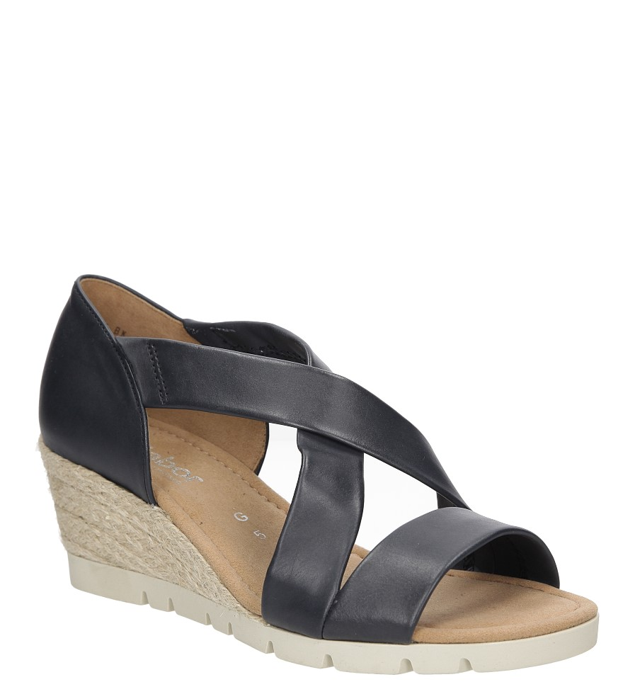 Sandały skórzane Gabor 62.853 producent Gabor