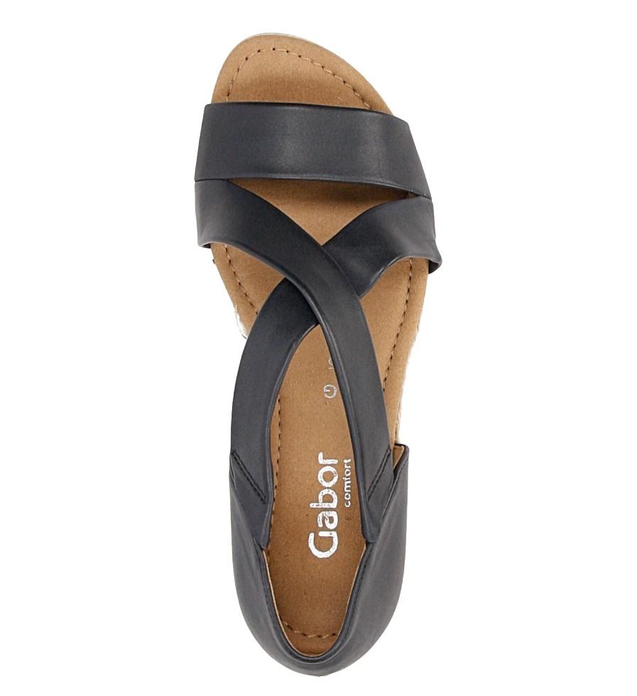 Sandały skórzane Gabor 62.853 wysokosc_platformy 1.5 cm