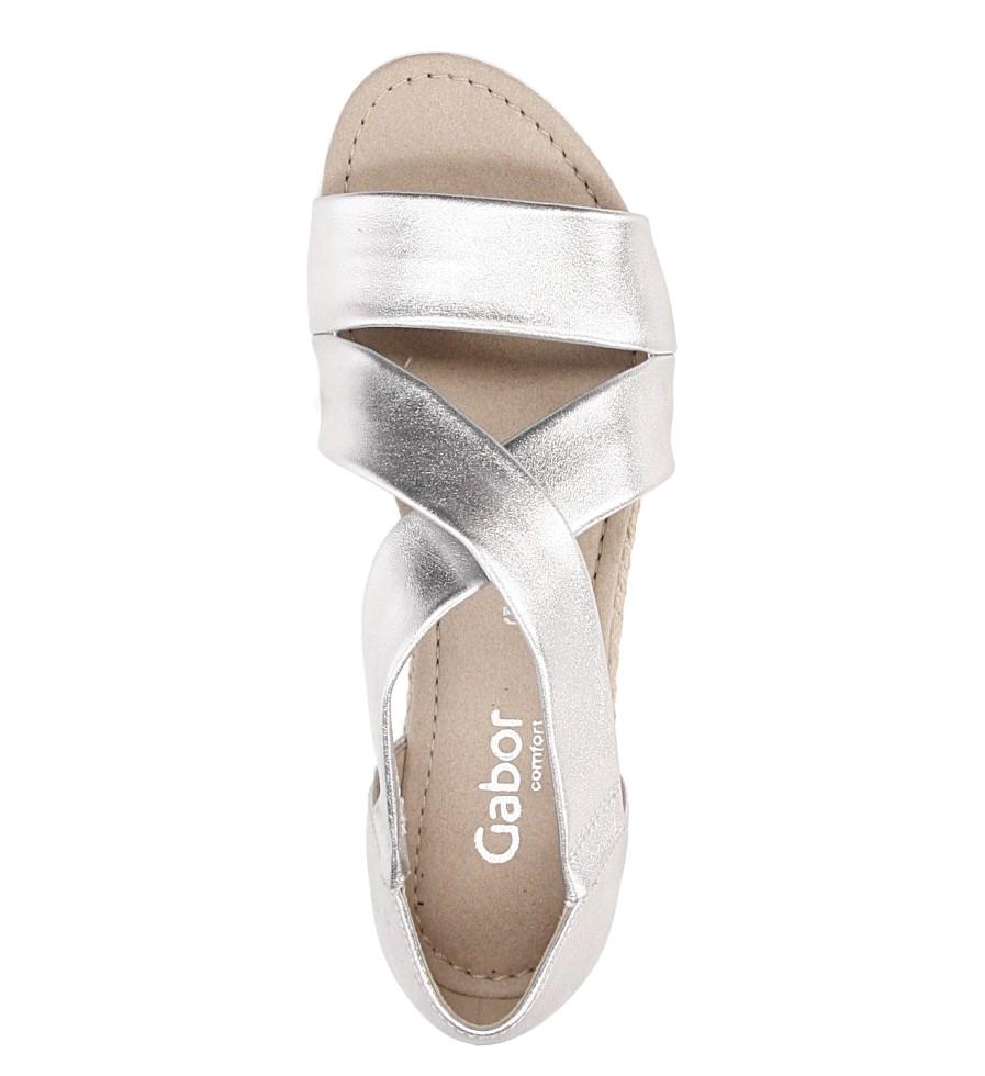 Sandały skórzane Gabor 62.711.10 wysokosc_platformy 1.5 cm