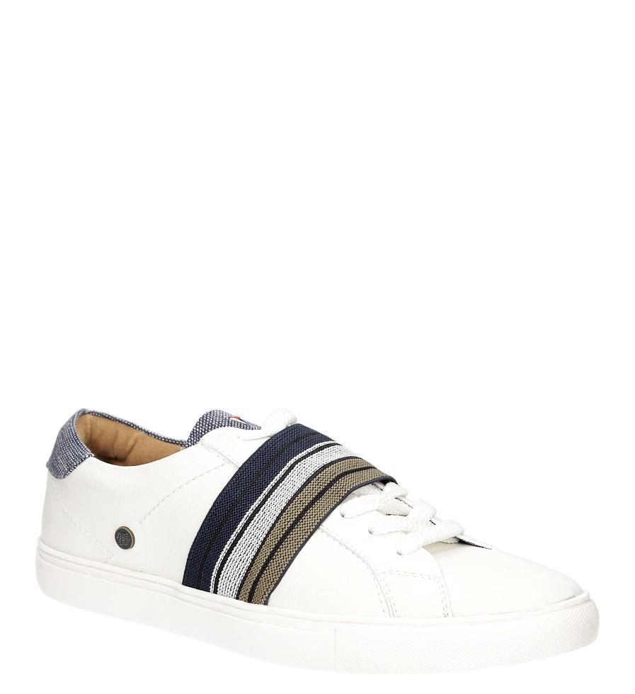 Damskie Tenisówki Wrangler Ivy Elastic WL171530 biały;niebieski;