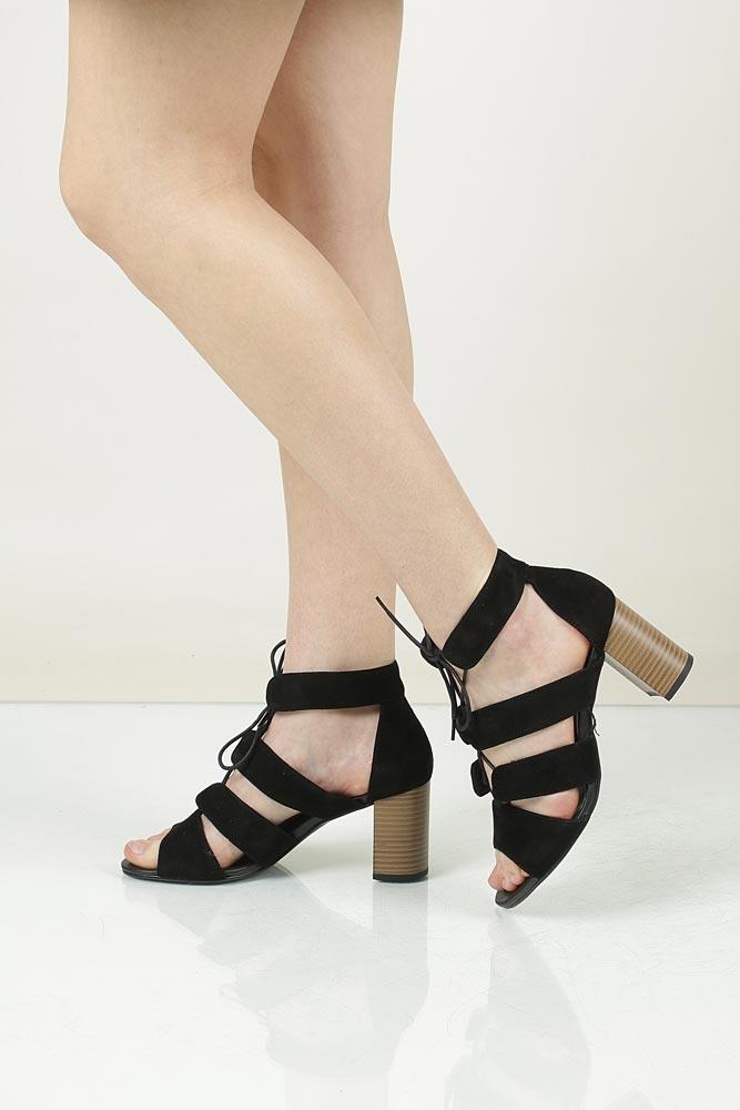 Sandały zamszowe wiązane Vagabond 4337-340-20
