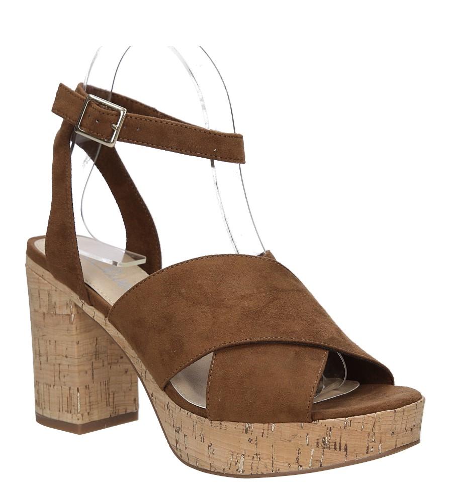 Sandały zamszowe na słupku S.Oliver 5-28309-28