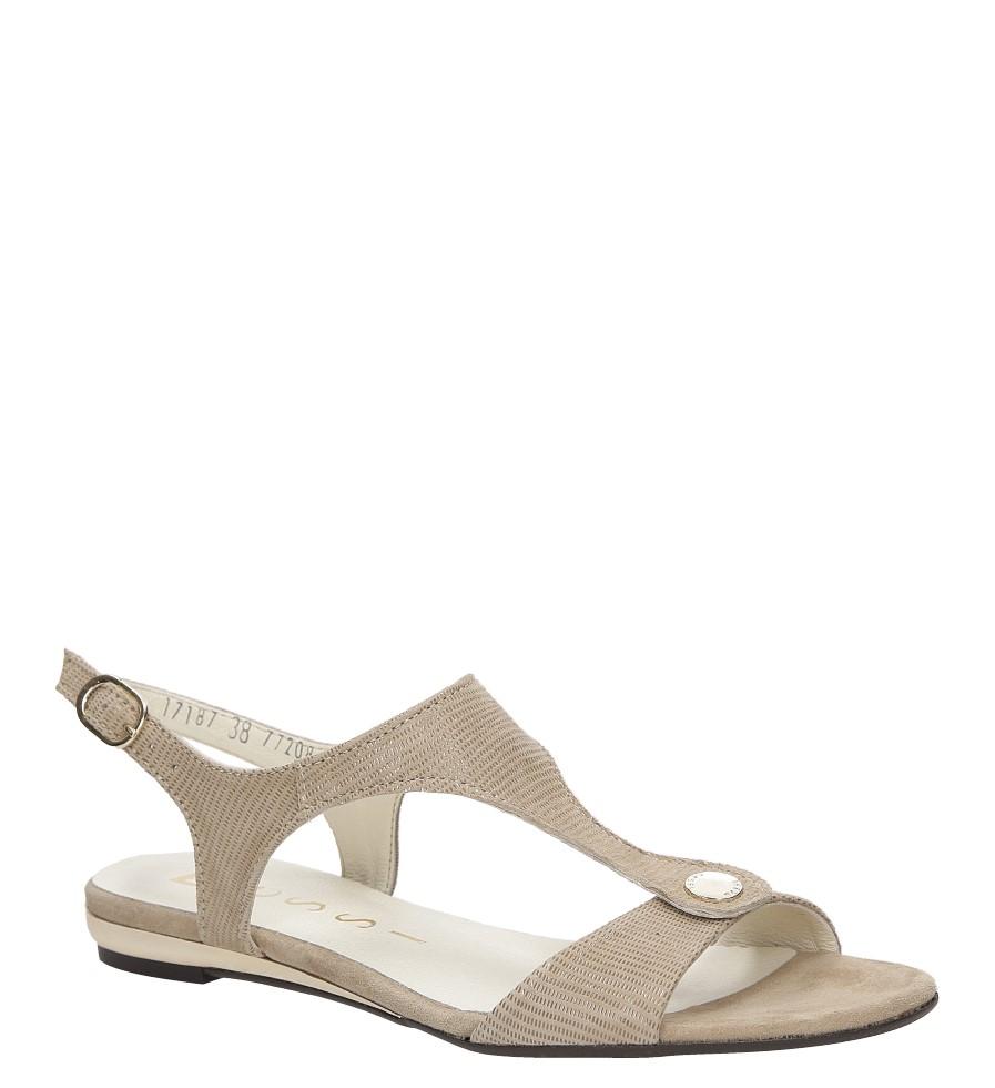Sandały skórzane Nessi 17187